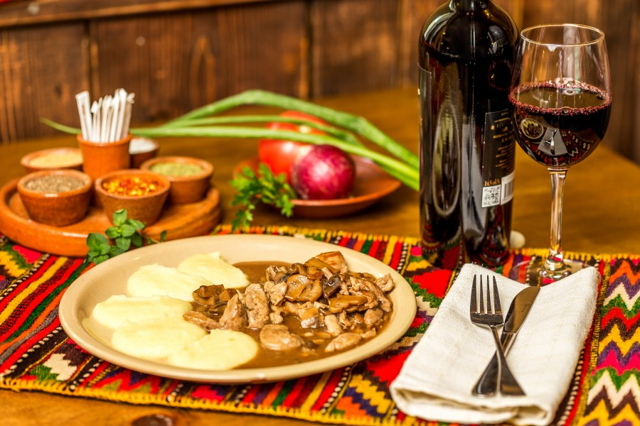 Traditional Bulgarian celebrate