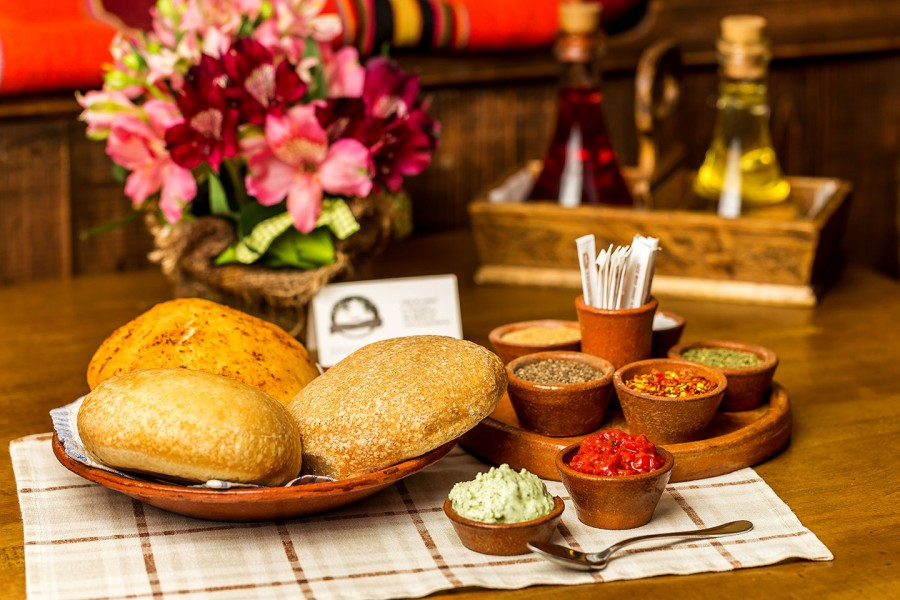 Traditional Bulgarian Round Loaf (Pogacha)